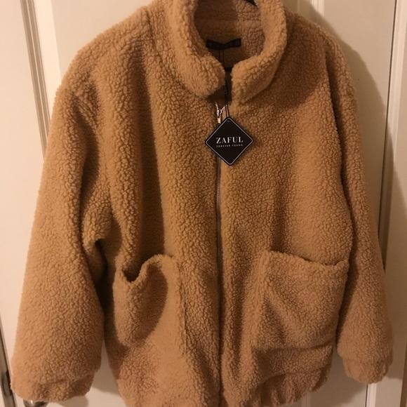 cheap for sale pick up new photos Zaful Jackets & Coats | Teddy Bear Coat | Poshmark